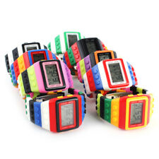 New Construction Brick Digital Watch Retro Wristwatch Shhors Watch Block