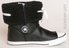 CONVERSE KIDS BOOTS SHOES, CT ANDOVER LEATHER BOOTS HI UK 12.5 to 13.5  BLACK