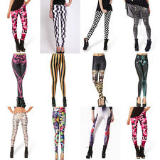 Fashion Sexy Women Galaxy Digital Design Printed Pattern Stretch Tights Leggings