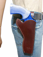 "NEW Barsony Burgundy Leather 49-er Style Holster Freedom Arms Llama 6"" Revolvers"