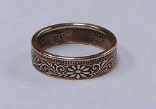 COIN RING  made from  JAPAN. 1 SEN COIN  size 4-8