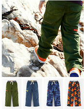 Brand New 2014 BODEN BOYS LINED CARGOS AGE 2-12 RRP£35