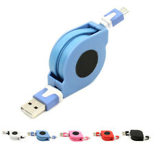 Retractable Micro USB Charger Sync Data Cable Cord For Android Phone Samsung HTC
