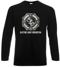 New ELECTRIC LIGHT ORCHESTRA *ELO Band Logo Long Sleeve Black T-Shirt Size S-3XL