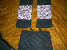 New ~ Hand Towel Sets ~ Kitchen Towels ~ Pot Holders ~ Variety of Patterns! NWOT