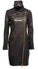 Custom Made Ladies Leather Jacket Giacca in Pelle da Donna Jaquette Joppe LJF23