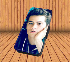 Dylan O'Brien For Faux Leather Flip iPhone & Samsung Galaxy Cover Case JS39