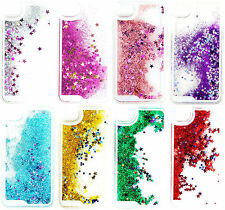 Glitter Bling Stars Colourful Liquid Novelty iPhone 4 4S 5 5S 5C 6 6 Plus Case