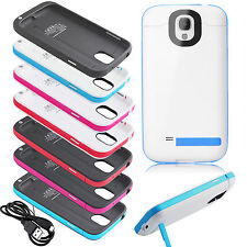 4200mAh Backup Battery Charger Case Power Bank For Samsung Galaxy S4 i9500 i9505