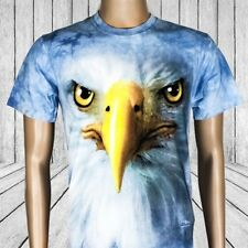 Eagle Face T-Shirt - The Mountain Big Face Tees | mens women bird usa animal