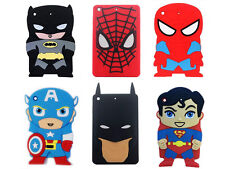 Hero Spiderman Funny Batman Soft Silicone Back Cover Case For Apple iPad Mini