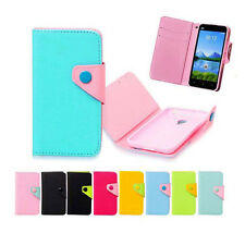 luxury Wallet Card Holder Magnetic case Cover For HUAWEI NOKIA Samsung HTC SONY