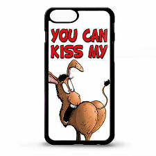 """Cover for Iphone 6 plus Donkey ass kiss my funny rude saying art 5.5"""" phone case"""