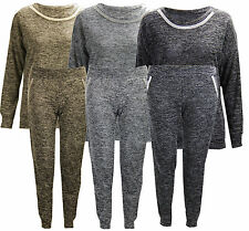 D57 NEW WOMENS DIAMANTE SWEATSHIRT TROUSERS LADIES JOGGING BOTTOM FULL TRACKSUIT