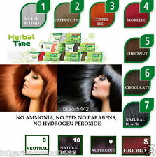 100% NATURAL HENNA COLOR CREAM HERBAL HAARFARBE DYE READY TO USE 75 ML