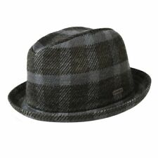 KANGOL Jacquard Player Trilby Fedora Hat K1095CO Crushable Cap Wool Blend New