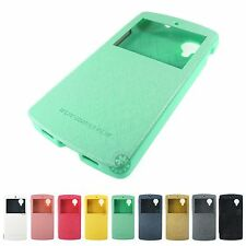 *Economy Shipping* MERCURY Wow Bumper View Flip Case Google NEXUS 5 Window Cover
