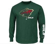 Minnesota Wild MENS Long Sleeve Shirt by Majestic Athletic