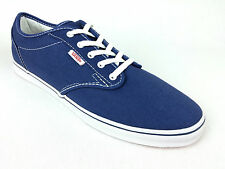 VANS. Women's or Men's ATWOOD Lo Pro BLUE  Casual Shoes. Womens US 9 & 10.