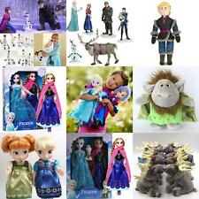Cute Lovely Elsa Anna princess stuffed Soft plush dolls toy Sven Kristoff Olaf