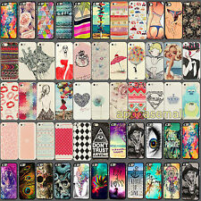 Fashion Colorful Design Hard Back Skin Case Cover for Apple iPhone 4 4S 5 5S 5C