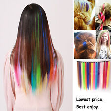 2x Fashion Single Clip In Straight Hair Extensions Various of Colours Available
