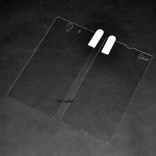 0.3mm 2.5D Front/Back TEMPERED GLASS SCREEN PROTECTOR FOR Sony Xperia Z L36H