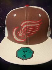 TWISTED WINGS FITTED HATS grassroots x over the moon clothing redwings detroit
