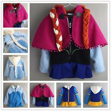 2014 New Autumn hot frozen Elsa Anna Hoodies jacket clothing for kid girls coat
