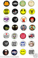 various 25mm / 58mm badges, funny nice cool unique badges