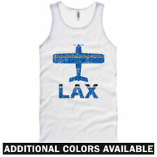 Fly Los Angeles LAX Airport Tank Top - Cali Jet - Men / Women - XS S M L XL 2XL