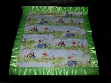 WINNIE THE POOH & Friends Personalized Cotton & Fleece Blanket Baby