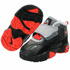 (535737-004) TODDLER NIKE SPEED TURF BLACK/UNIVERSITY RED/ANTHRACITE