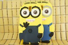 3D Despicable Me Yellow Minion Soft Silicone Skin Case Cover for Galaxy Note 4