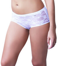 Imported Women See Through Boyshort Stylish Lace Best Seller White S M L XL Com