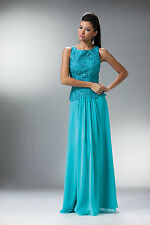 Elegant Long Sleeveless Mother of the Bride Dress Formal Chiffon Skirt Clearance