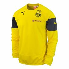Puma BV Borussia Dortmund Official 2014-15 Soccer Training Fleece Top New Yellow