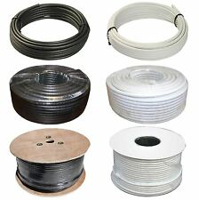 RG6 Coaxial Replacement Cable Satellite Aerial TV Sky Virgin Freesat Freeview