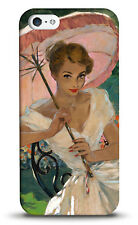 disguised™ Pin Up Girl Pink Umbrella Cover Case Vintage Burlesque - All Phones