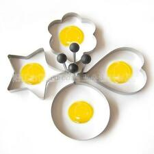 Hi-Q Cute Stainless Steel Pancake Mould Mold Ring Fried Egg Shaper Kitchen Tools
