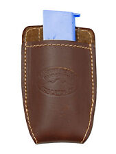 NEW Barsony Brown Leather Magazine Pouch for Makarov FEG Mini/Pocket 22 25 380