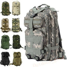 Outdoor Sport Military Tactical Rucksacks Backpack Camping Hiking Trekking Bag