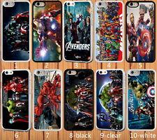 for iPhone 5/5S hard case Marvel Superhero - add message if need iphone 6 6 plus