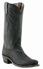 Lucchese Since 1883 M3106 74 Mens Black Sanded Shark Western Cowboy Boots