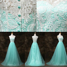 CHEAP Women Long Formal Evening Gown Bridesmaid Prom Dress Wedding Party Dresses