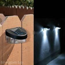 LED Outdoor Solar Powered Power Garden Path Wall Fence Lawn Night Lamp Light HOT