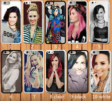for iPhone 5/5S hard case Demi Lovato - add message if need iphone 6 6 plus