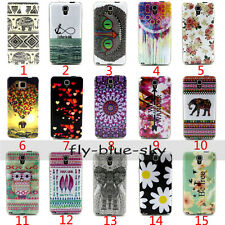 Fashion Painting Silicone Soft TPU silica gel Back Case Cover For Samsung Moto