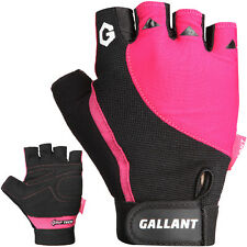 Gallant Ladies Pink Weight Lifting Gloves Gym Training Body Building Womens Bike