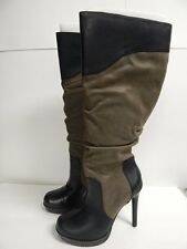 Jessica Simpson Vaness Knee High Boot Army Brown/Vintage Nubuck  New with Box